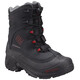Columbia Bugaboot Plus III Boots Youth Omni-HEAT black / rocket